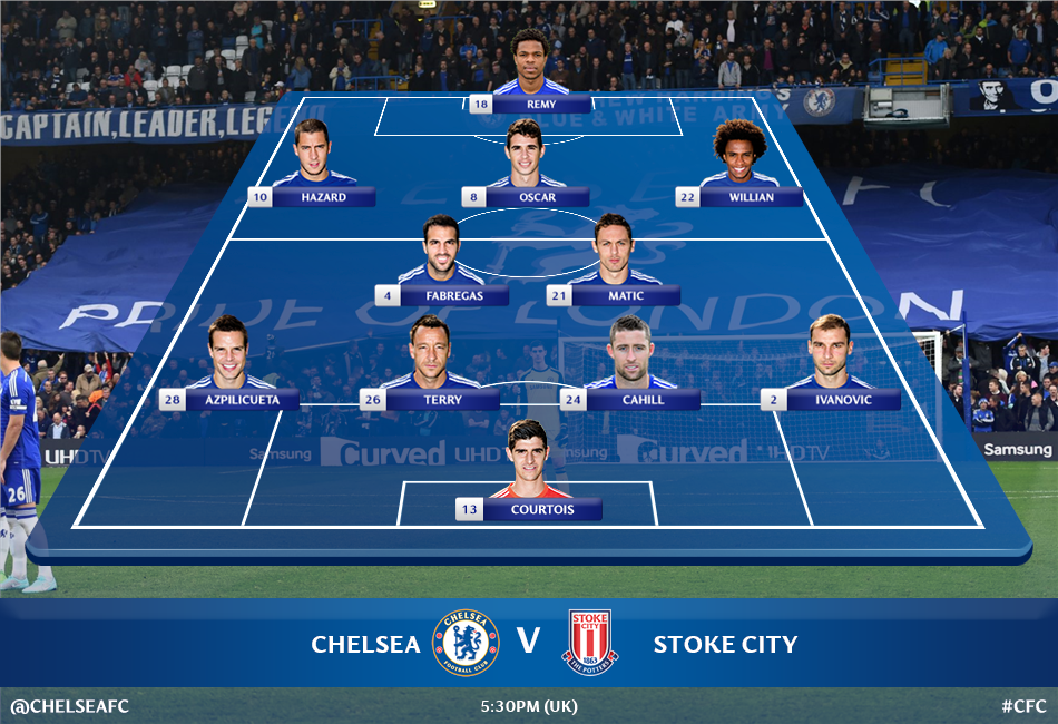 chelsea line up today