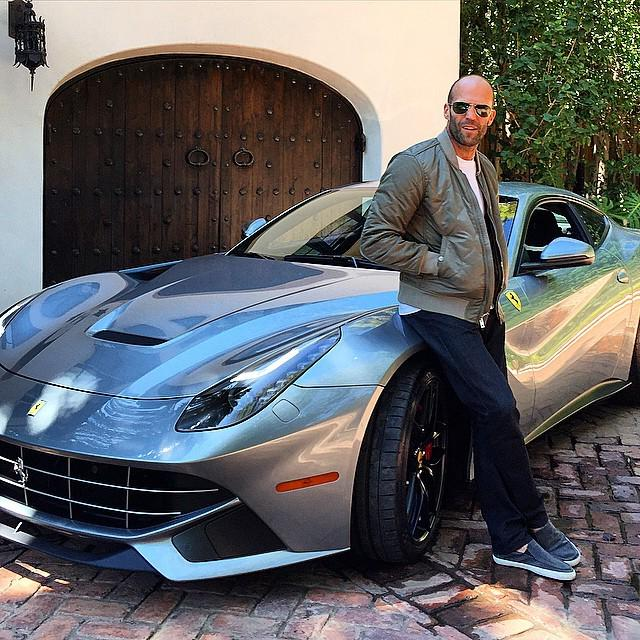 "Only Ferrari Pics On Twitter: ""Jason Statham This Week In"