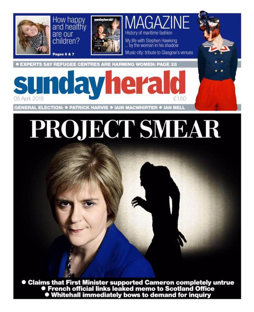 Well I for one will buy the National tomorrow to find out just what Nosferatu's plans for Scotland are. http://t.co/3roS64Jw3f