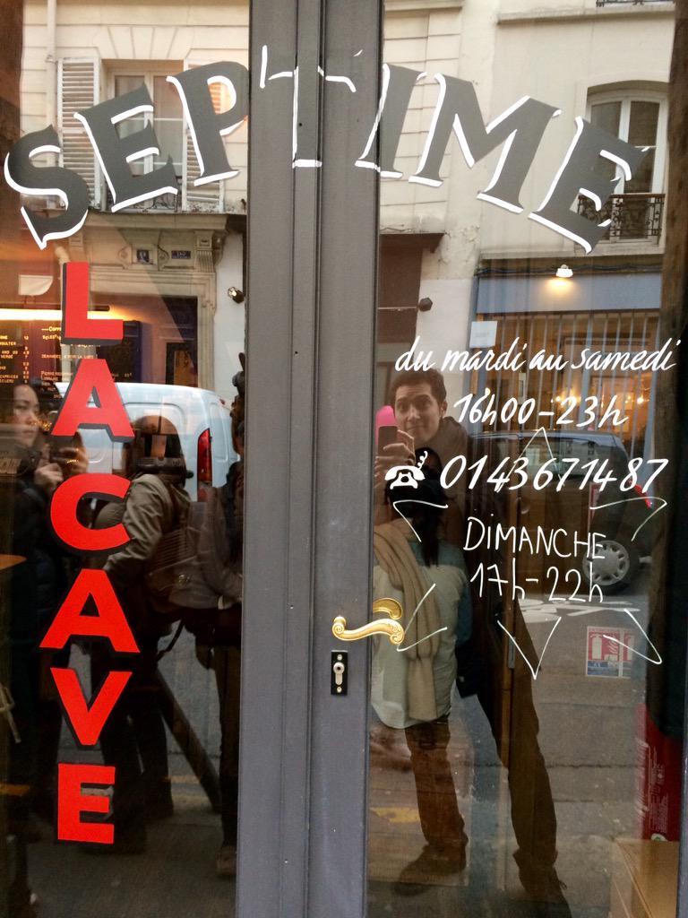 MT @A_Ayscough: Bertrand Grébaut's tiny jewel of a wine bar Septime La Cave is now open Sunday evenings. http://t.co/WfORsDbRB3