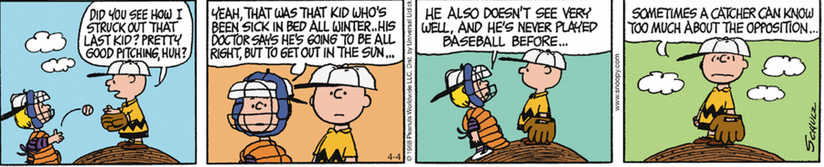 Like any good catcher, Schroeder keeps his pitcher grounded. http://t.co/Wl0TpO1Fwy