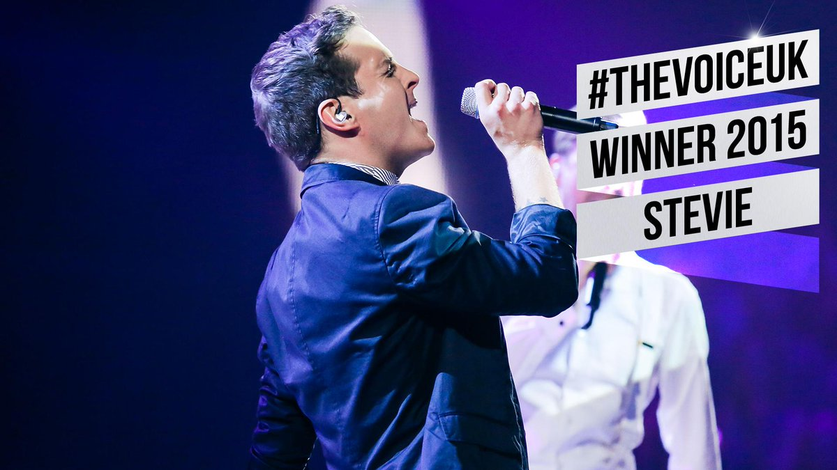 The winner of The Voice series 4, it's… @steviemccrorie! #thevoiceukFINAL http://t.co/ZXPbpFwqbE