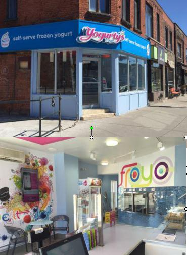 #JunctionTO MT @yogurtys Doors opened at our newest #Toronto store in the #Junction!! 👋🎉 http://t.co/bj4Vt9s3bZ http://t.co/zJ7RlAwPjE