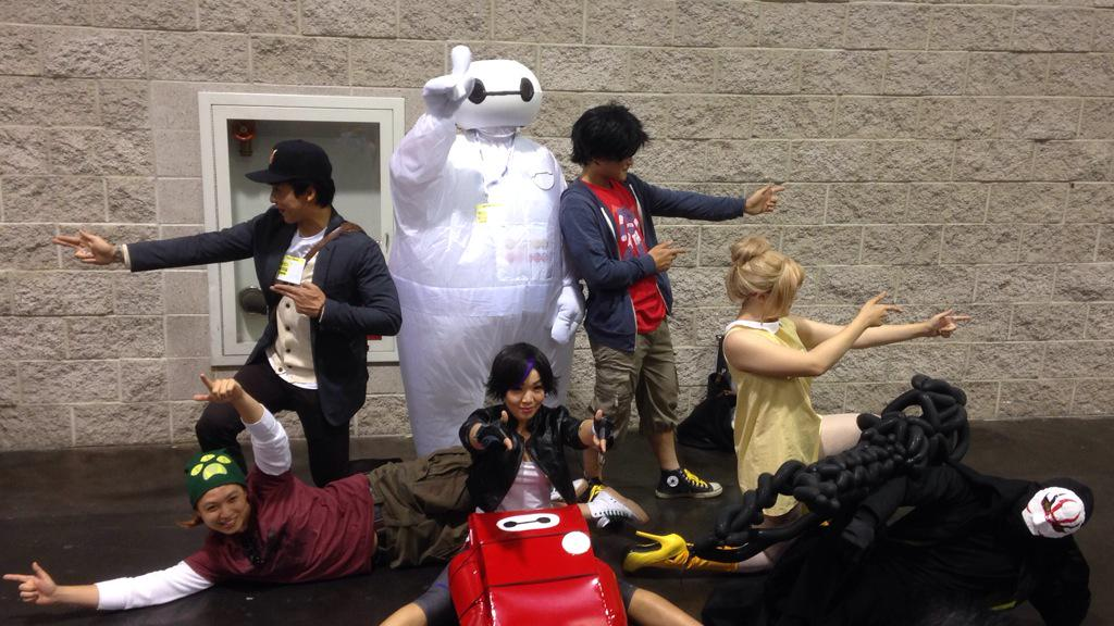 Awesome #BigHero6 group #cosplay #WonderCon https://t.co/cT3MMZjZxz http://t.co/IGAGb6ySU1