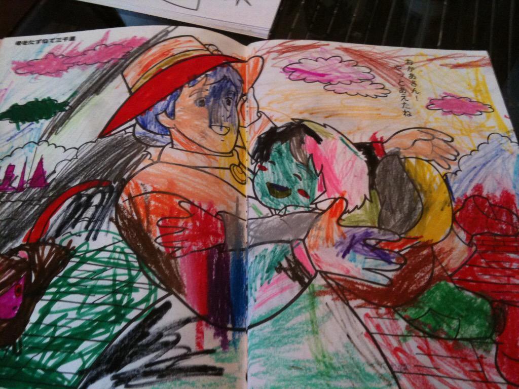 塗り絵に子の成長をみる http://t.co/c3sUxjZXIZ