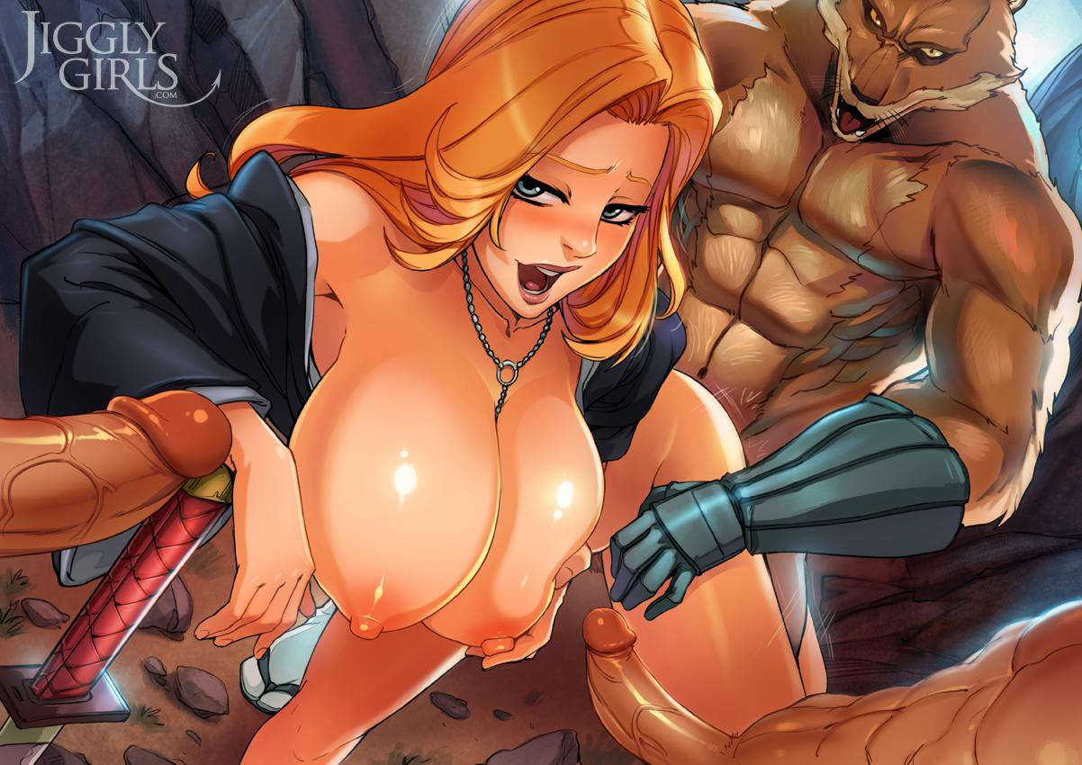 sexy and naked girls from bleach with big tits