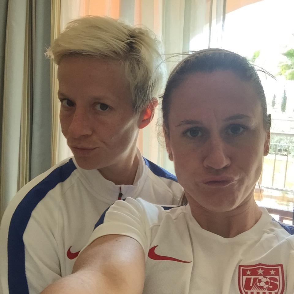 "Heather O'Reilly on Twitter: ""Congrats @mPinoe on your ..."