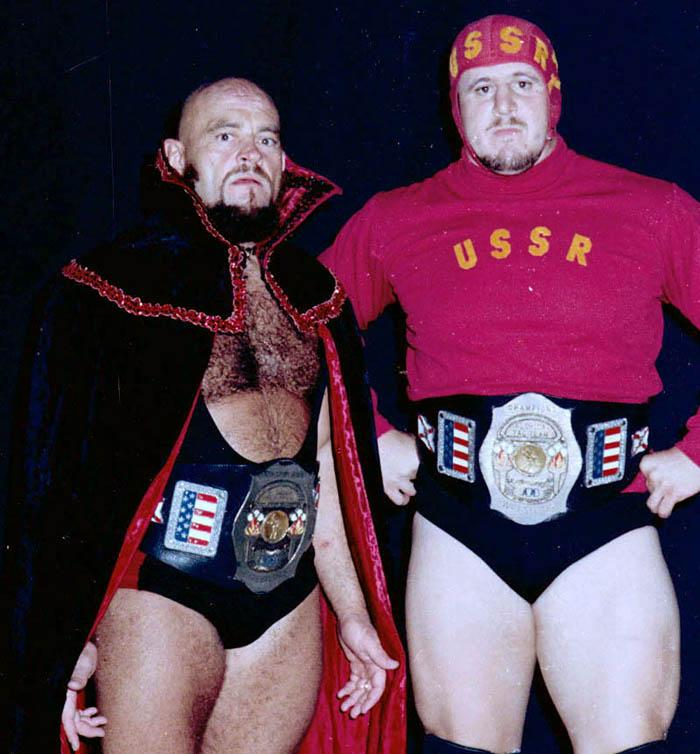 "JustRasslin on Twitter: """"The Russian Bear"" Ivan Koloff & Nikolai ..."
