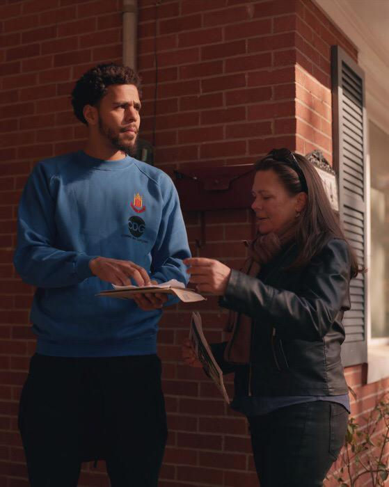 J Cole And His Mom deray on Twitte...