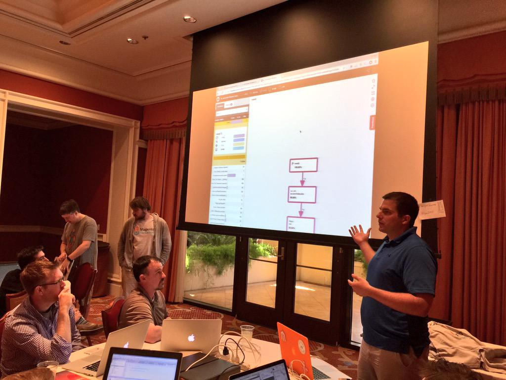 benmarks: 4th project at #ImagineCommerce hackathon: a @blackfireio profile & vagrant box for Magento!nnhttps://t.co/E84xjoSsaw http://t.co/U9sdiQis2b
