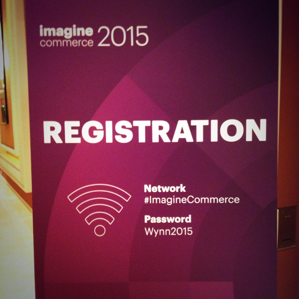 MagentoFeedle: Registration at #ImagineCommerce about to kick off - don't forget the essentials :) http://t.co/ZkNXYiB91T via inchoo