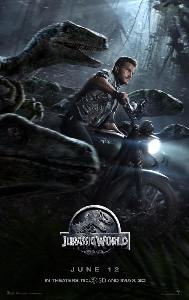 There's a new #JurassicWorld trailer debuting tomorrow.