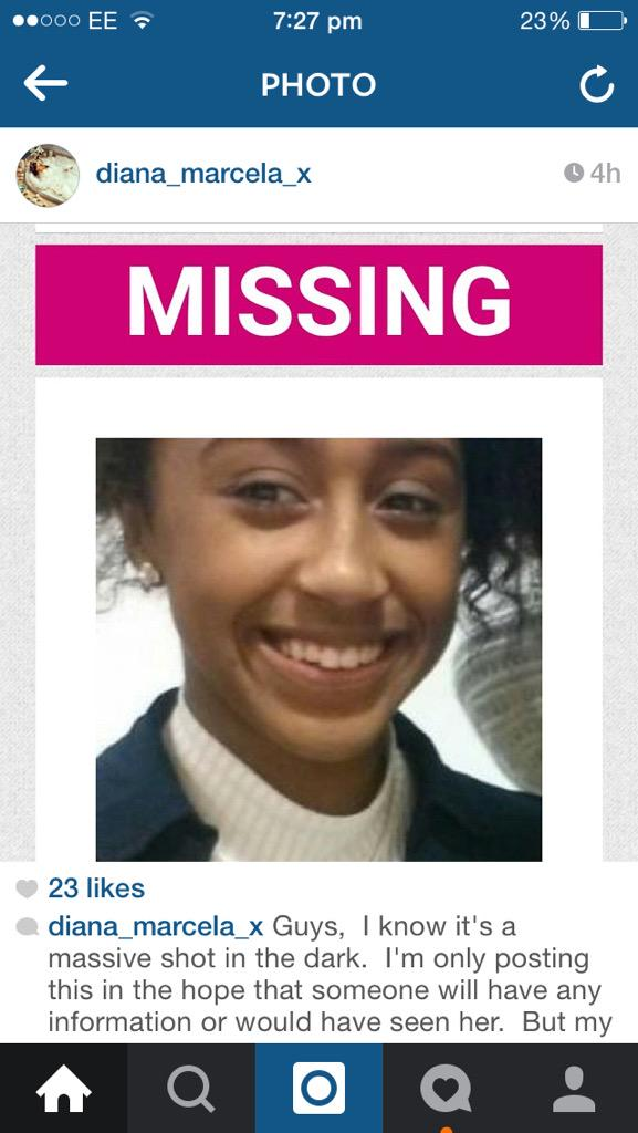 THIS ONLY TAKES A COUPLE SECONDS TO SPREAD THE WORD. LISA VALENCIA HAS BEEN MISSING SINCE TUESDAY http://t.co/kPvVPqTVz6