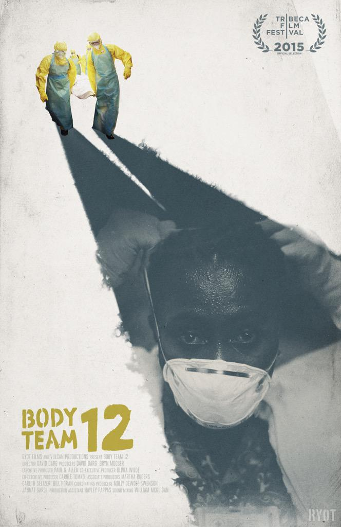 On my way to the premiere of BODY TEAM 12, our short doc about Ebola workers in Liberia. https://t.co/REWwgzqIcv http://t.co/2aYKthJhhf