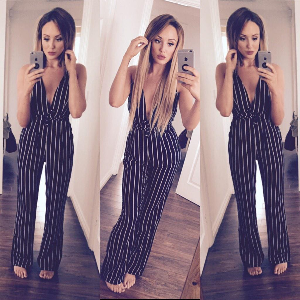 Pinstripe princess ⚫️⚪️  This gorgeous nostalgia number is back in stock 👉 @inthestyleUK    http://t.co/OrnA8AfpJh http://t.co/dx4eyB3eTq