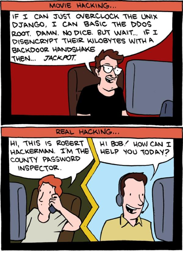Hacking in movies vs. hacking in real life http://t.co/rOjBp47SVK