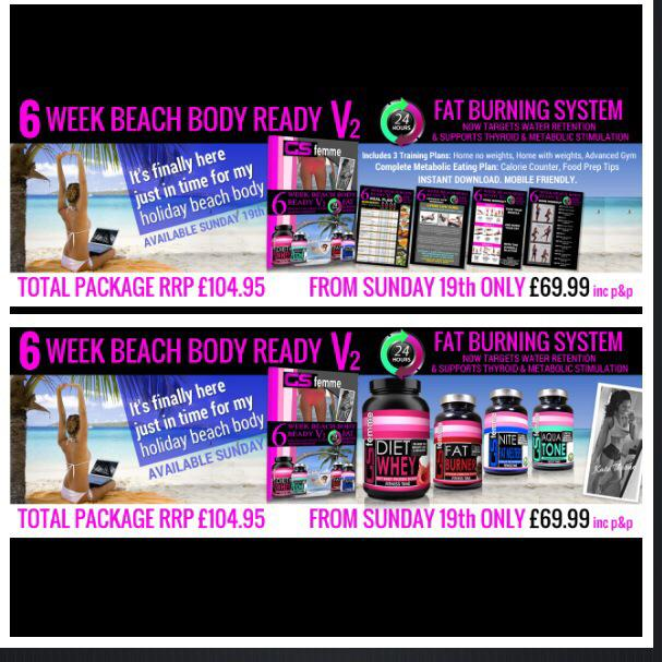 Don't have a gym membership ? Our new 6 week beach body now has a full home workout plan http://t.co/OJXEKDpVEQ http://t.co/8cOFP4mJo5