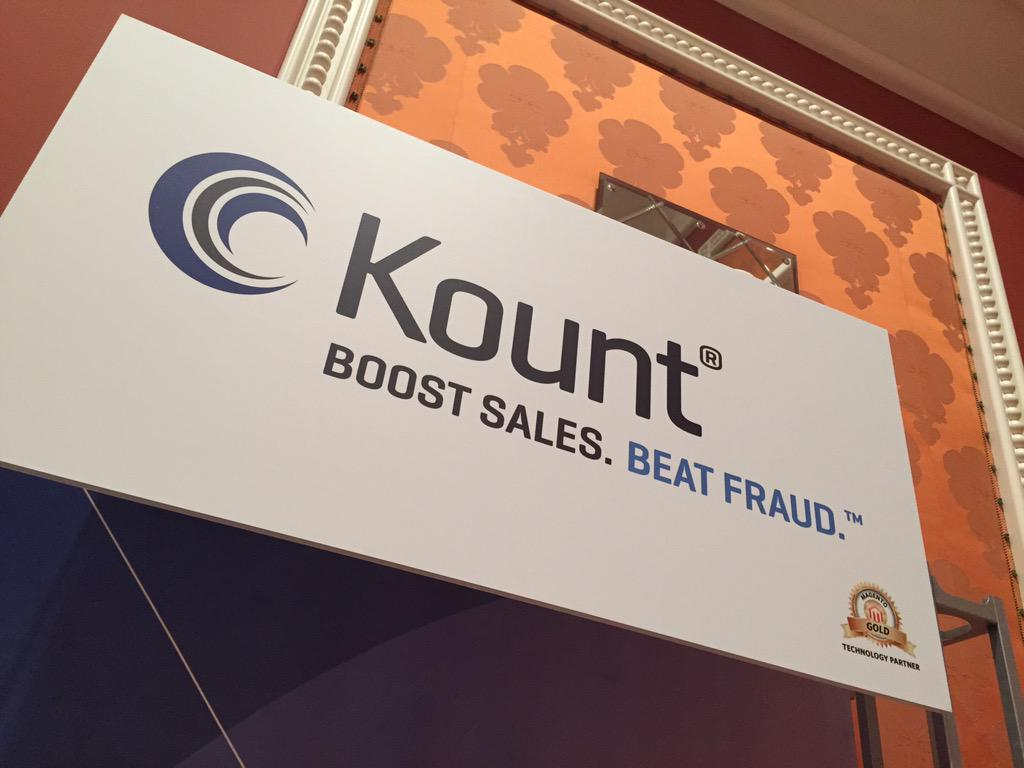 JC_Climbs: Suffering eComm fraud? Try @KountInc folks. We love 'em @liveoutthere. Visit their booth #ImagineCommerce http://t.co/3OzYVjN6UT