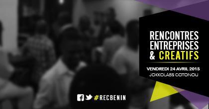 ► La #1 Rencontre Entreprises & Créatifs c'est ce Vendredi 24 Avril 2015 à @JklCotonou #RECBénin #CCBénin. http://t.co/H0XzWDNWZ2