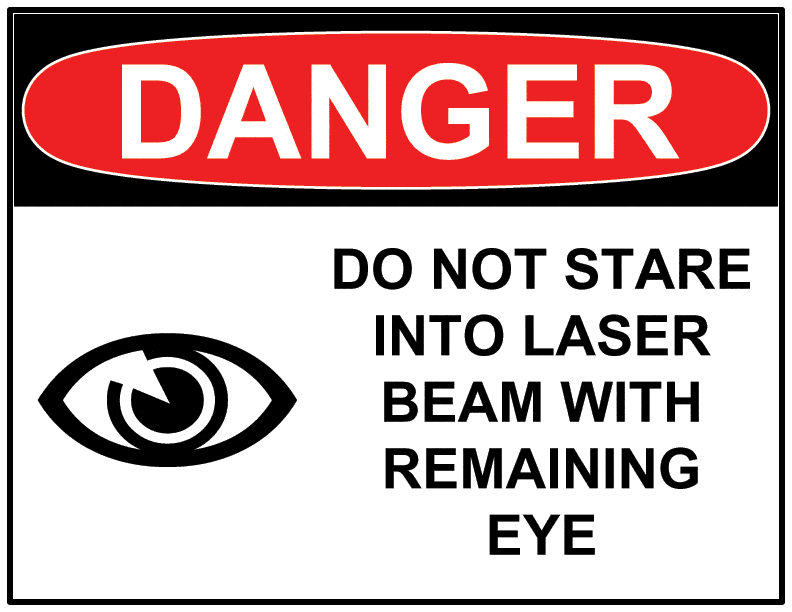 """Ramón Gil Moreno on Twitter: """"DO NOT STARE INTO LASER BEAM WITH ..."""