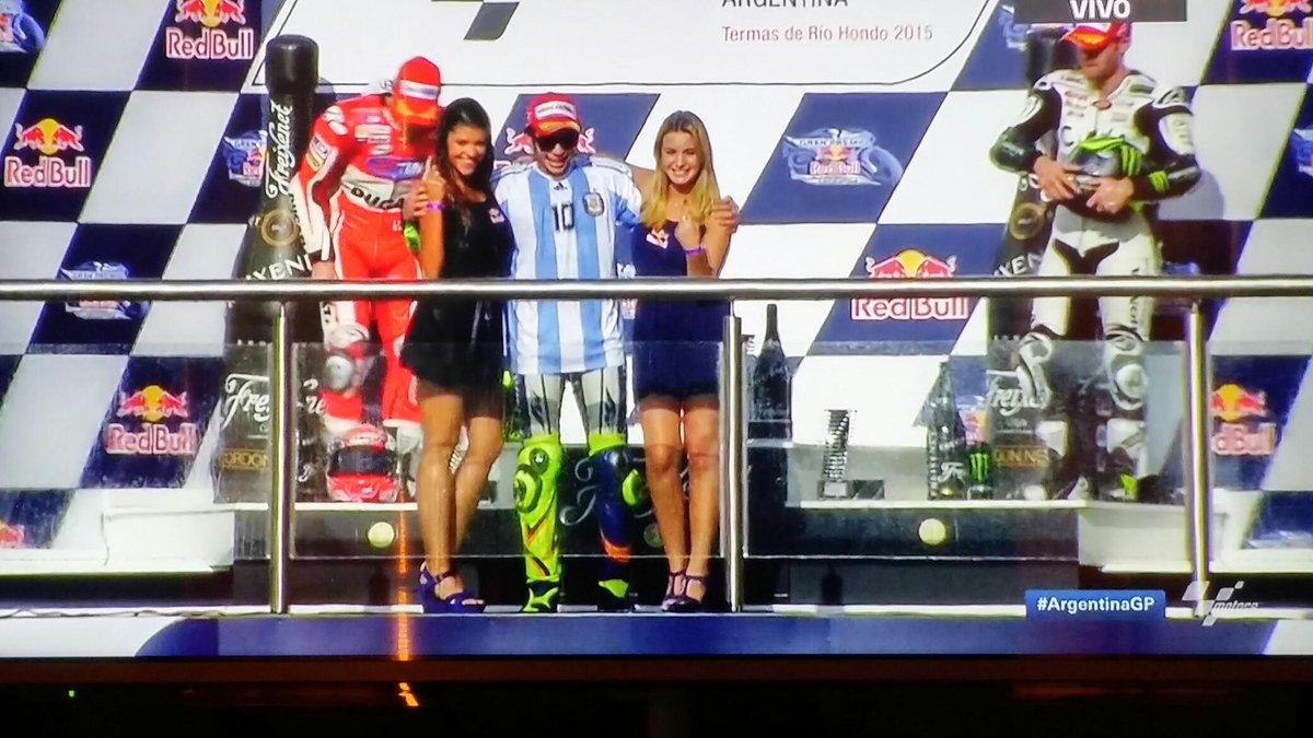 Valentino Rossi vince il Gran Premio di Argentina di MotoGP 2015