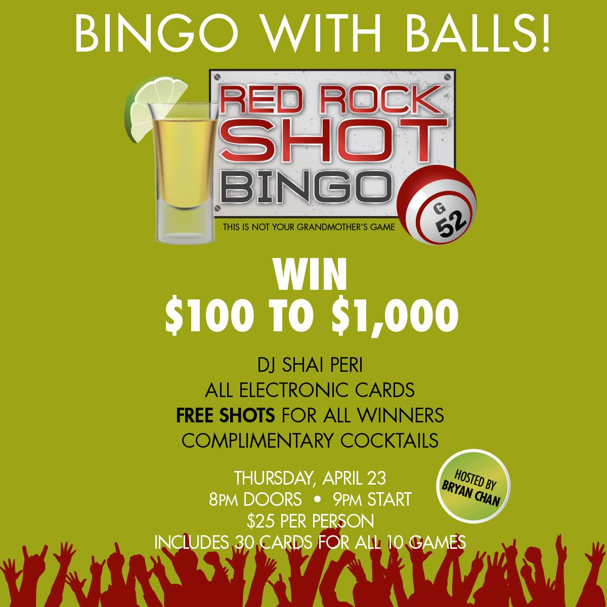 How to play bingo at red rock casino