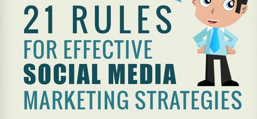 21 Rules for Effective Social Media Marketing Strategies [infographic] http://t.co/rXv6laB1Xq #socialmedia http://t.co/5QjkWqVD6k