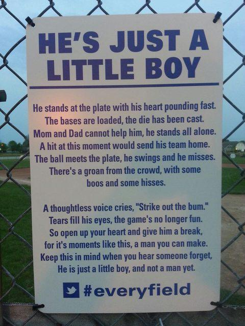 Baseball season is in full swing. Just remember they're all still kids. Share if you agree #everyteam http://t.co/HgBIT8CHZh