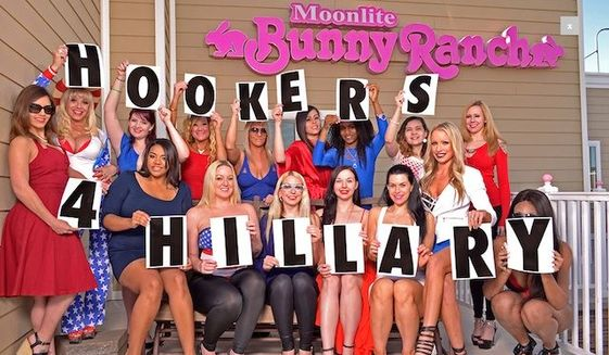 Hookers 4 Hillary – Bill Clinton excited