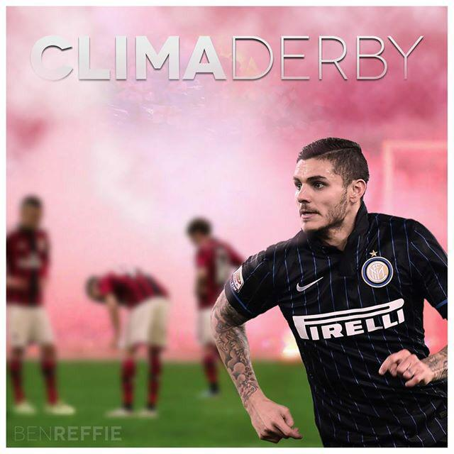 Derby weekend!!! #FCIM @Inter_en @MauroIcardi http://t.co/XOL69SwQtA
