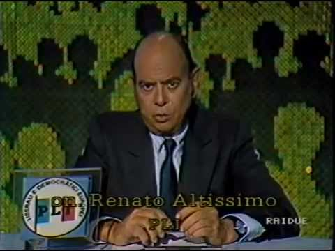 Renato Altissimo e' morto (FOTO)