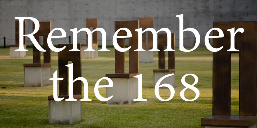 Let us pause and remember the victims of one of the worst terrorist attacks on U.S. soil. #OKCbombing http://t.co/AogUVdppXE