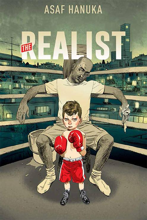 On sale 4/22 in comic shops: Asaf Hanuka's powerful OGN autobiography, THE REALIST. @RealistComics http://t.co/dx5VuOMN1v