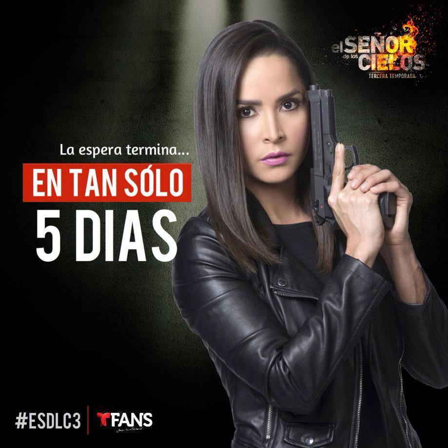 """Carmen Villalobos on Twitter: """"Sólo 5 días 🙀 Gran estreno ..."""