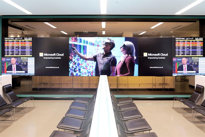 .@Microsoft to advertise on Bloomberg's Hub installation at @LondonCityAir  http://t.co/csc3bkhEz1 @Campaignmag http://t.co/6Lfud2apQA