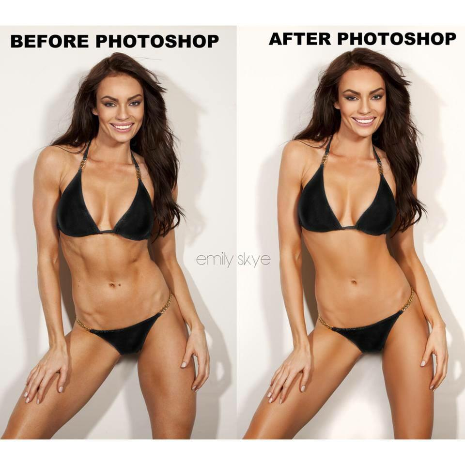 Photoshop model transformation this brilliant