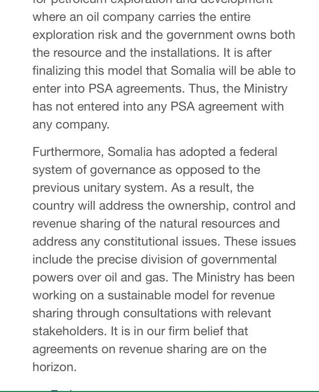 Harun Maruf On Twitter Somalia Federal Government To Review Its
