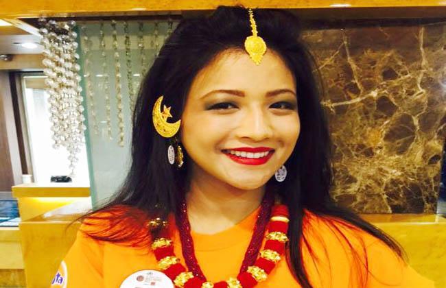इभाना मानन्धरले जितिन् 'मिस नेपाल २०१५' को उपाधि