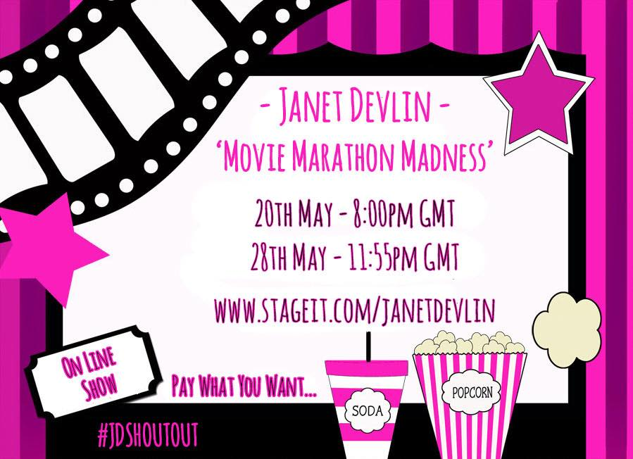 """RT @RD120: """"@JanetJealousy Have you got your ticket yet? """" of course, wouldn't miss it for anything :) http://t.co/Vy9FTNrrOU"""