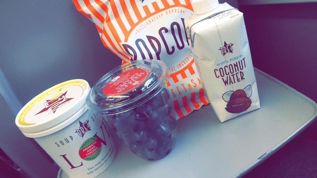 Tweet what you eat 😋 yummy @Pret ALWAYS have great healthy options absolutely perfect for me when I'm on the road http://t.co/O81hynGHo2