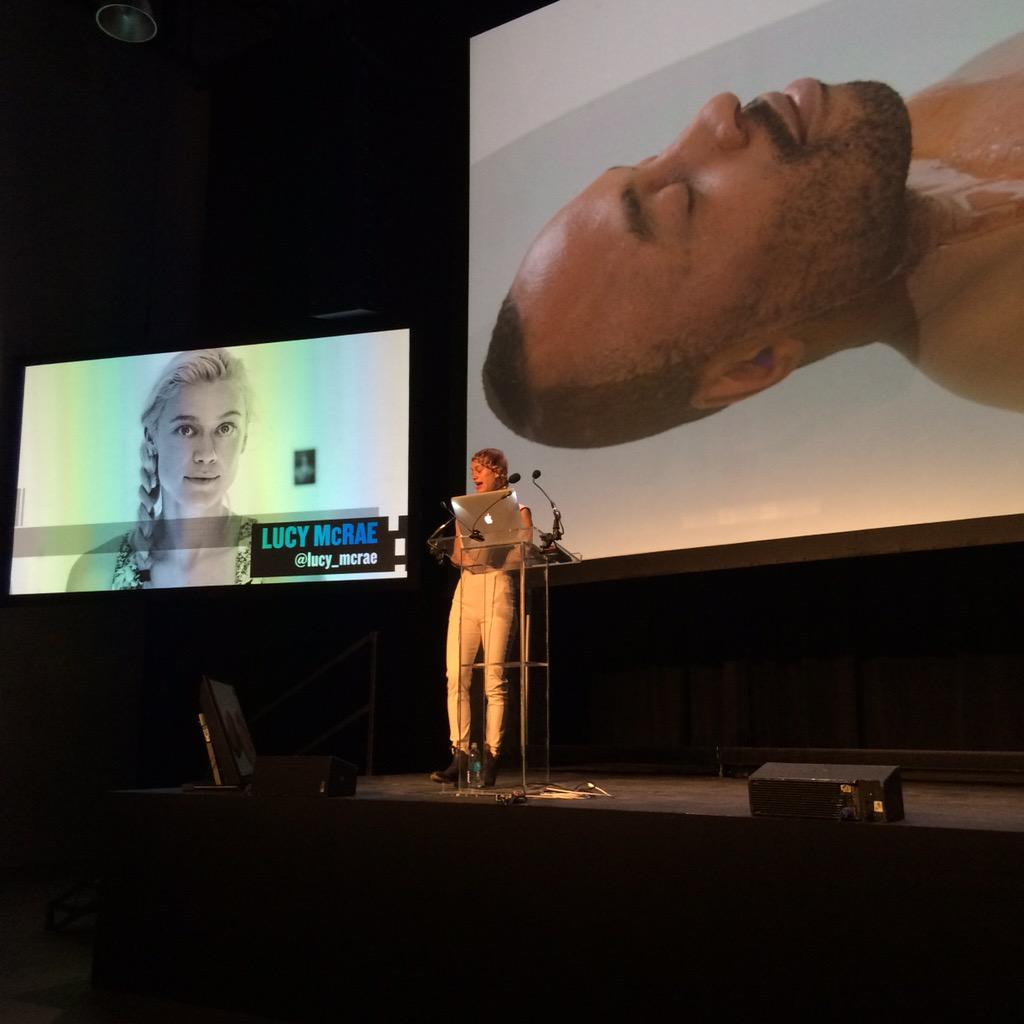 How can we reimagine the body as a vehicle and prepare it for space travel ? @lucy_mcrae #TFIi http://t.co/wXQysY0MP6