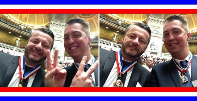 J+1 -  MOF  – BENOIT SAINT-AMAND GARRY TAFFIN …A LA COUPOLE ! http://t.co/7IRJQ2xySc