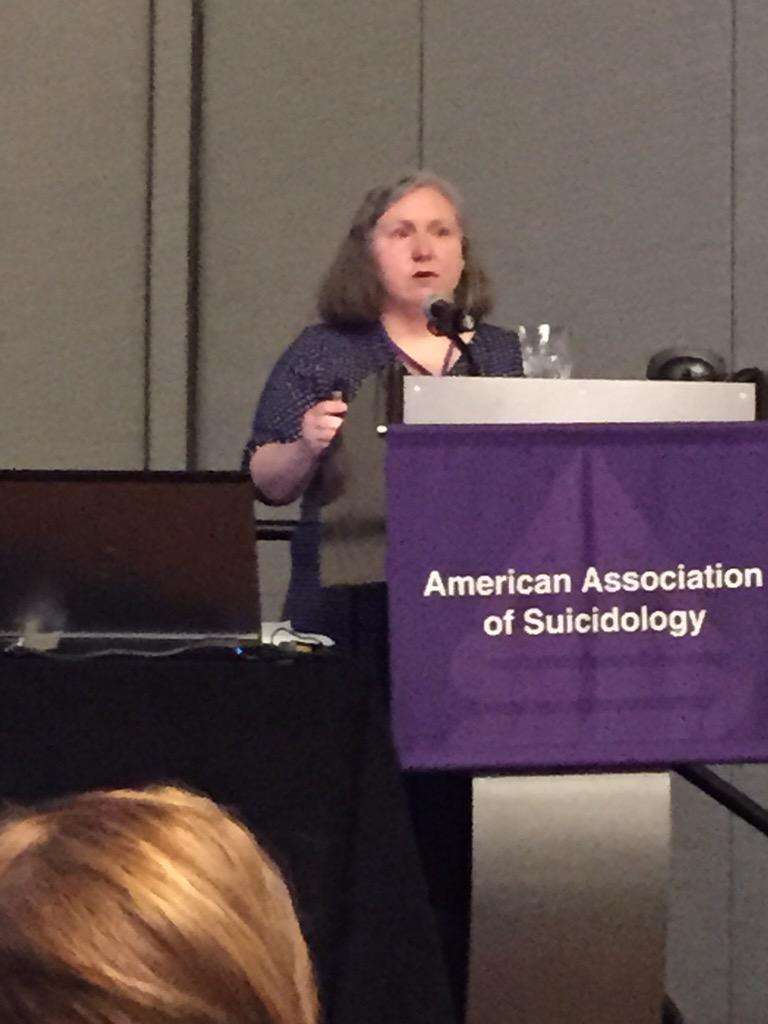 Julie Cerel chooses #not6 hashtag for her talk. #AAS15 #cerel http://t.co/g9ojvmoEA3