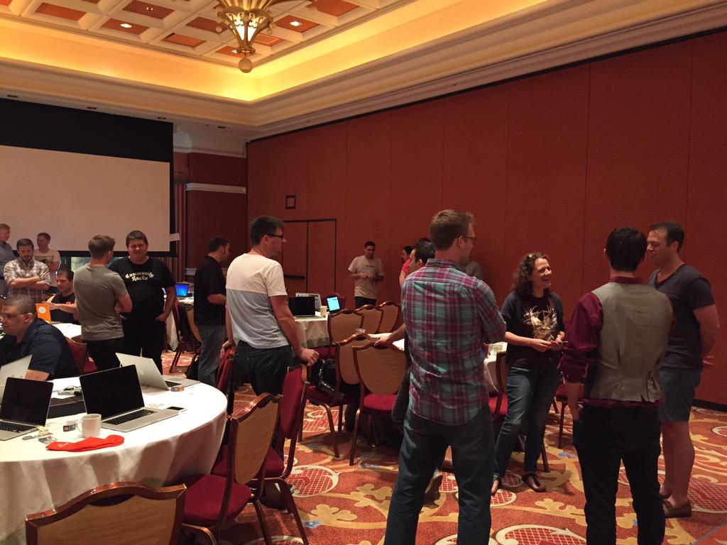 WebShopApps: Back with friends. #PreImagine hackathon. #ImagineCommerce http://t.co/jBdjlEbwZ4