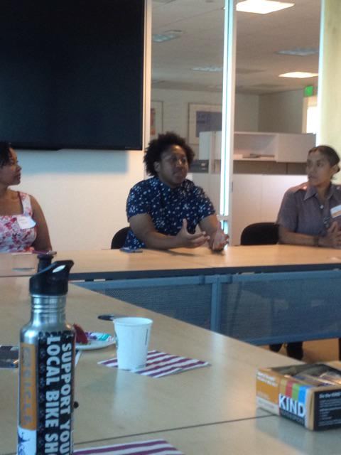 @TamikaButler ED of @lacbc sharing her story on bicycling and the future of biking #womenbikewomenlead http://t.co/9fWgGatUhK