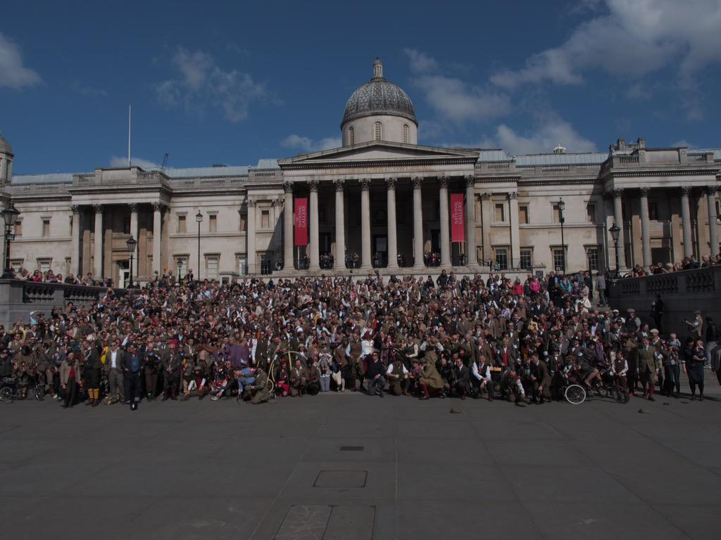 The 2015 London Tweed Run http://t.co/3AkVHeiCTY
