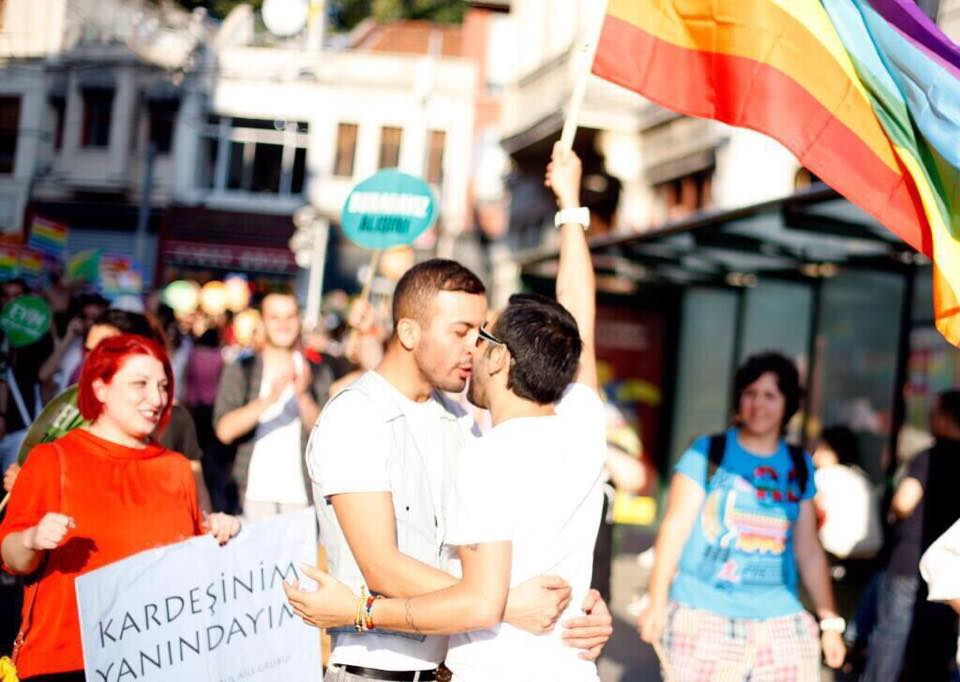 Tear Gas And Rubber Bullets Disrupt Istanbul Gay Pride Parade