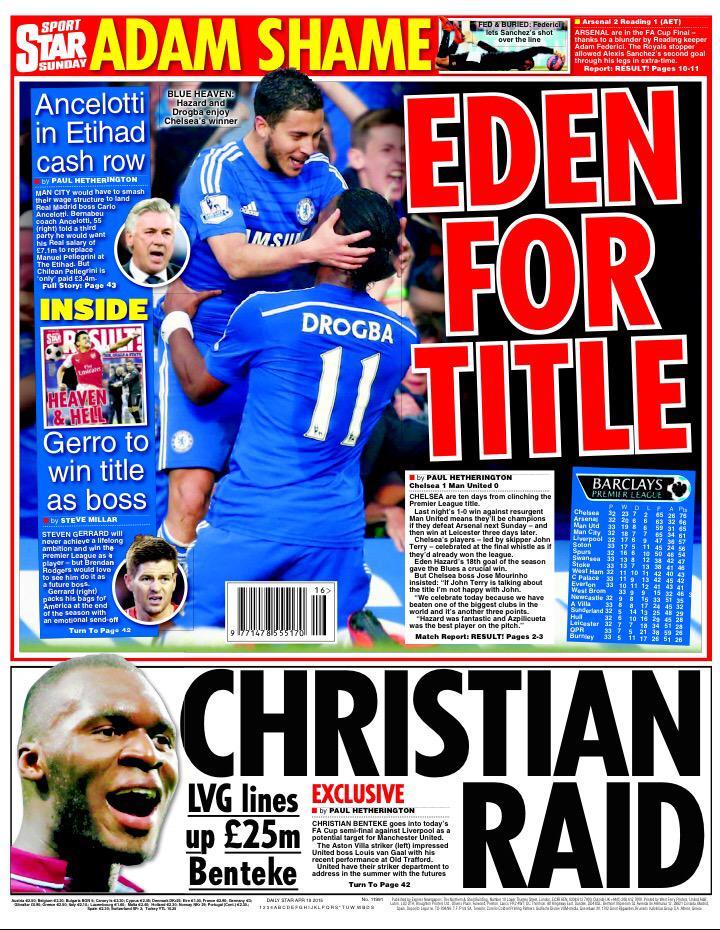 Premier League - Chelsea vs Manchester United - Page 2 CC5x6GaWMAAP2Ea