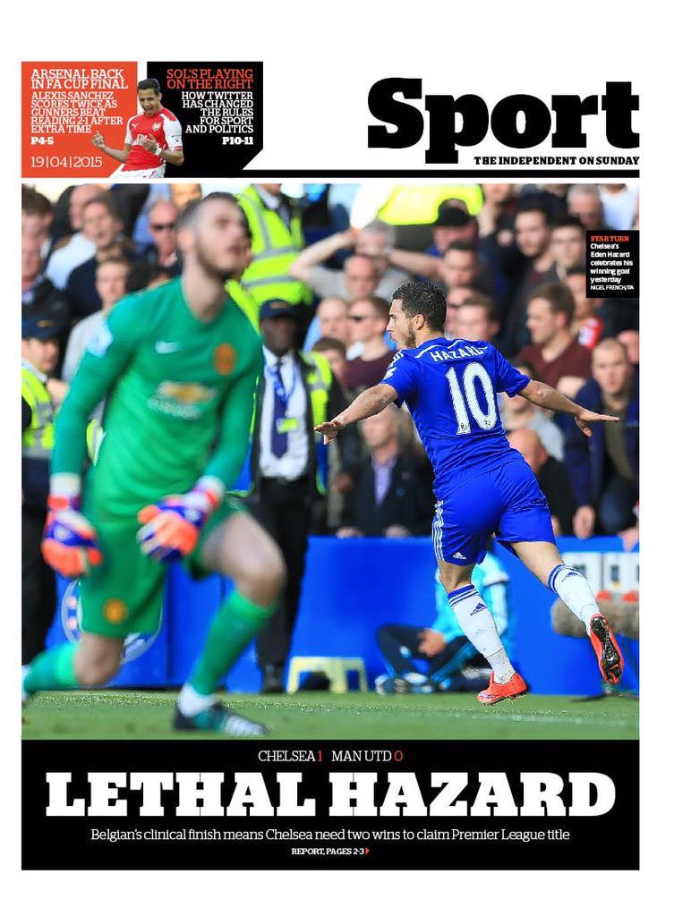 Premier League - Chelsea vs Manchester United - Page 2 CC5xmC1WAAA6F2I