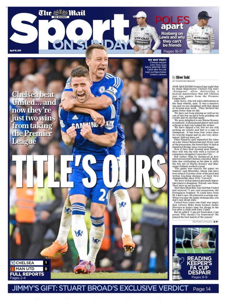 Premier League - Chelsea vs Manchester United - Page 2 CC5yo6vWgAIY3e6